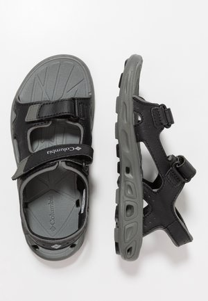 YOUTH TECHSUN VENT UNISEX - Walking sandals - black/grey