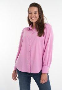 MS Mode - Zakelijk overhemd - lilac - 0