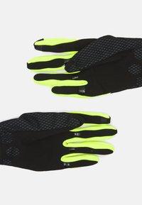 Gore Wear - GLOVES UNISEX - Kurzfingerhandschuh - black/neon yellow - 4