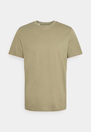 SLHNORMAN O-NECK TEE  - Basic T-shirt - aloe