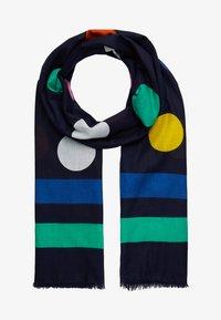 Benetton - Šátek - black/multi-coloured - 1