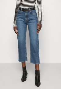 ARKET - Relaxed fit jeans - dark mid blue - 0