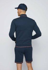 BOSS - SKAZ - Zip-up sweatshirt - dark blue - 2