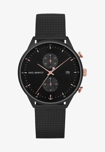 CHRONO LINE - Chronograph watch - black