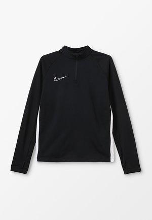 DRY ACADEMY DRIL - Sportshirt - black/white
