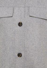 Moss Copenhagen - MAUDE JACKET - Summer jacket - mottled light grey - 2
