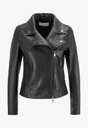 C_SAJUANA - Leather jacket - black