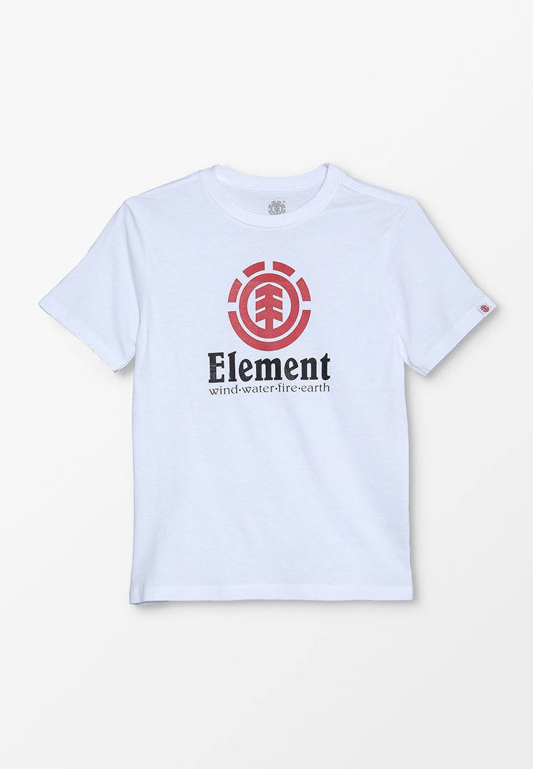 Element - VERTICAL BOY - Print T-shirt - optic white
