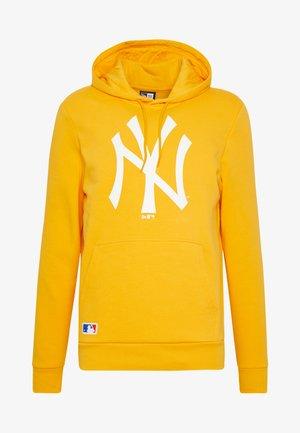MLB SEASONAL TEAM LOGO HOODY NEW YORK YANKEES - Club wear - gold