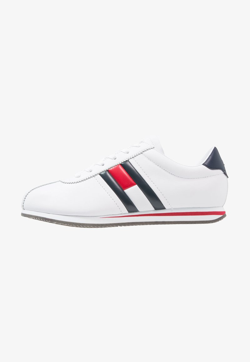 Tommy Jeans - RETRO FLAG  - Sneakers - white