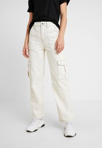 BDG Urban Outfitters - STITCH SKATE - Relaxed fit jeans - ecru - 0
