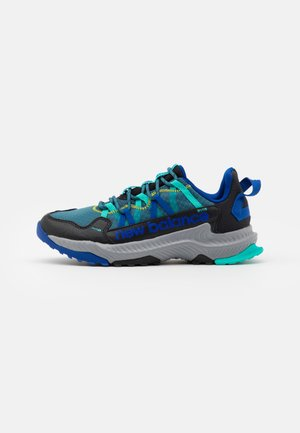GESHALB UNISEX - Trail running shoes - black/blue