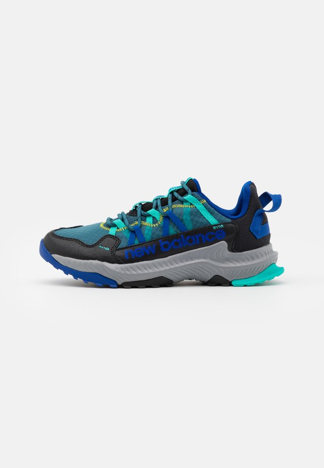 GESHALB UNISEX - Zapatillas de trail running - black/blue