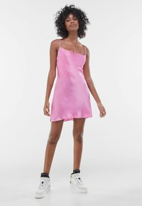 Bershka - Cocktail dress / Party dress - pink - 1