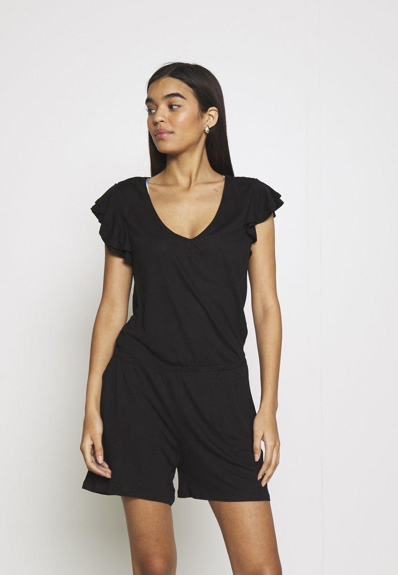 s.Oliver - ROSE - Pyjamas - schwarz