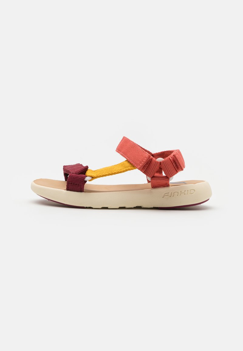 Finkid - NAUHA UNISEX - Chodecké sandály - rose/beet red