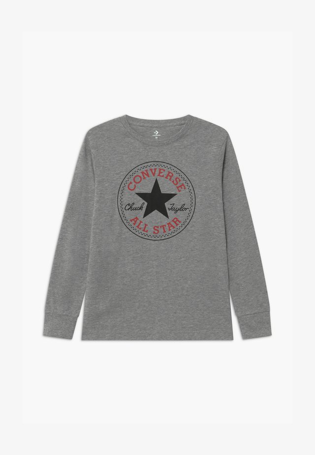 CHUCK PATCH LONG SLEEVE TEE UNISEX - Long sleeved top - grey