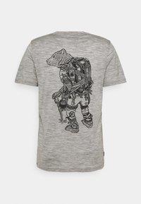 Icebreaker - TECH LITE CREWE FOREVER - T-shirt print - grey - 1