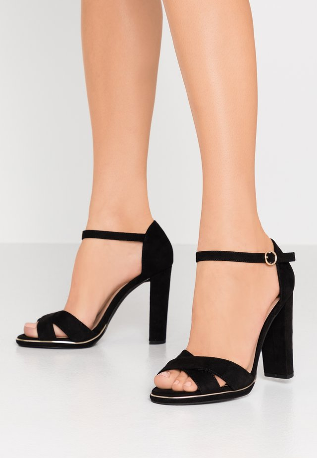 WIDE FIT TAMPA  - High Heel Sandalette - black