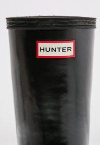 Hunter ORIGINAL - KIDS FIRST CLASSIC GLOSS - Botas de agua - black - 5