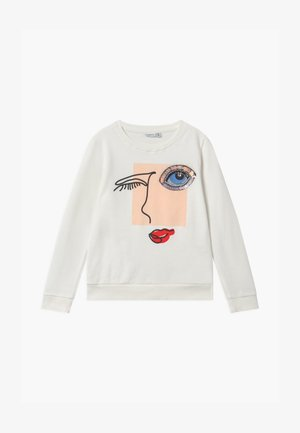 NKFLANKA  - Sweatshirt - bright white