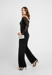 Nly by Nelly - OFF SHOULDER - Jumpsuit - black - 1