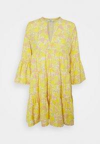 ONLY Petite - ONLATHENA DRESS - Kjole - white/yellow - 0