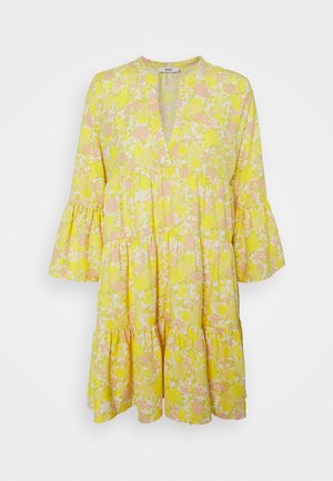 ONLATHENA DRESS - Day dress - white/yellow