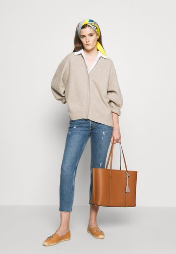 PERRY TRIPLE COMPARTMENT TOTE - Shopping bag - light umber