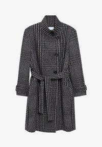 Violeta by Mango - MINIMAL - Classic coat - schwarz - 6