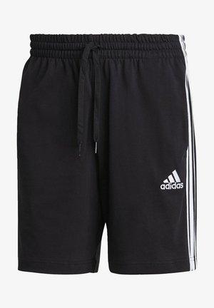 AEROREADY ESSENTIALS 3-STRIPES SHORTS - Pantalón corto de deporte - black