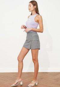 Trendyol - PARENT - Wrap skirt - black - 5