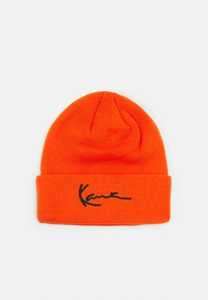 SIGNATURE BEANIE UNISEX - Beanie - orange