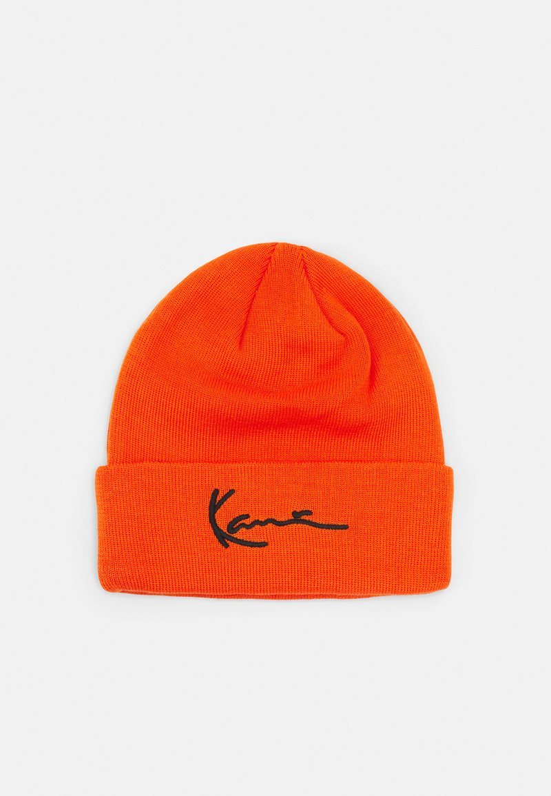 Karl Kani - SIGNATURE BEANIE UNISEX - Beanie - orange