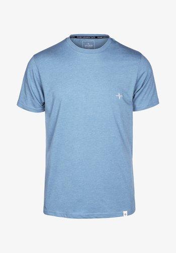 HEARTBEAT - Basic T-shirt - blau