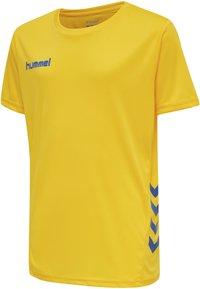 Hummel - DUO SET - Sports shorts - sports yellow/true blue - 5
