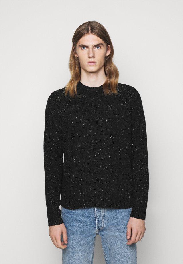 GEORGE - Pullover - black melange