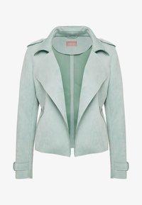 Cartoon - Faux leather jacket - granite green - 4