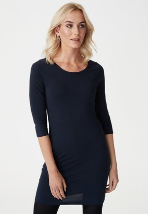 MANDY - Day dress - dark navy