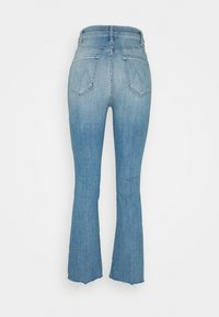 Mother - THE HUSTLER ANKLE FRAY - Bootcut jeans - blue denim