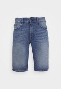 TOM TAILOR - JOSH SUPERSTRETCH - Denim shorts - light stone wash denim - 3