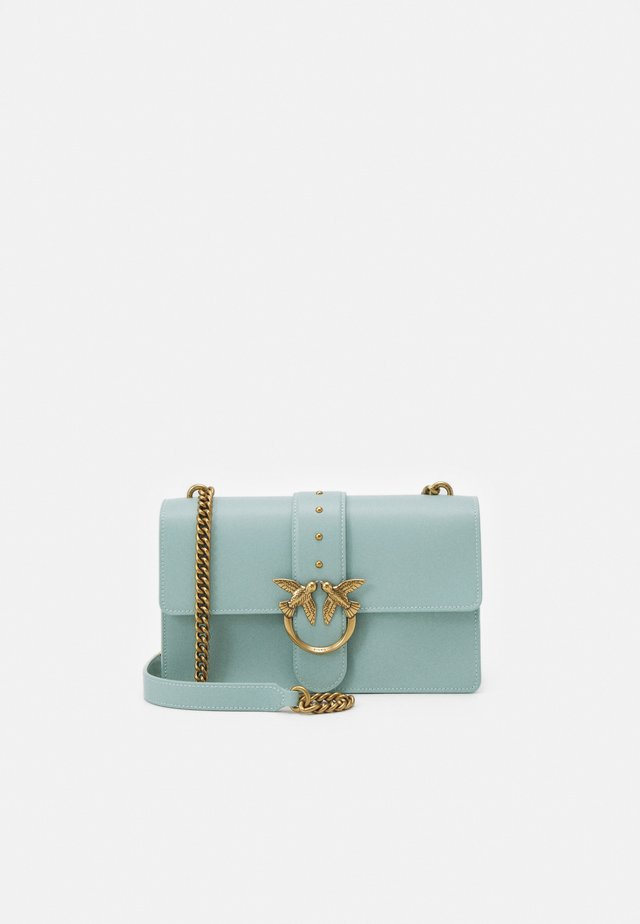 LOVE CLASSIC ICON SIMPLY SETA ANTIQU - Schoudertas - aqua green