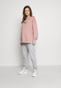 Missguided Maternity - Tracksuit bottoms - grey marl - 1