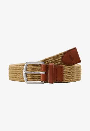 BRAIDED FABRIC STRETCH - Belt - timber brown
