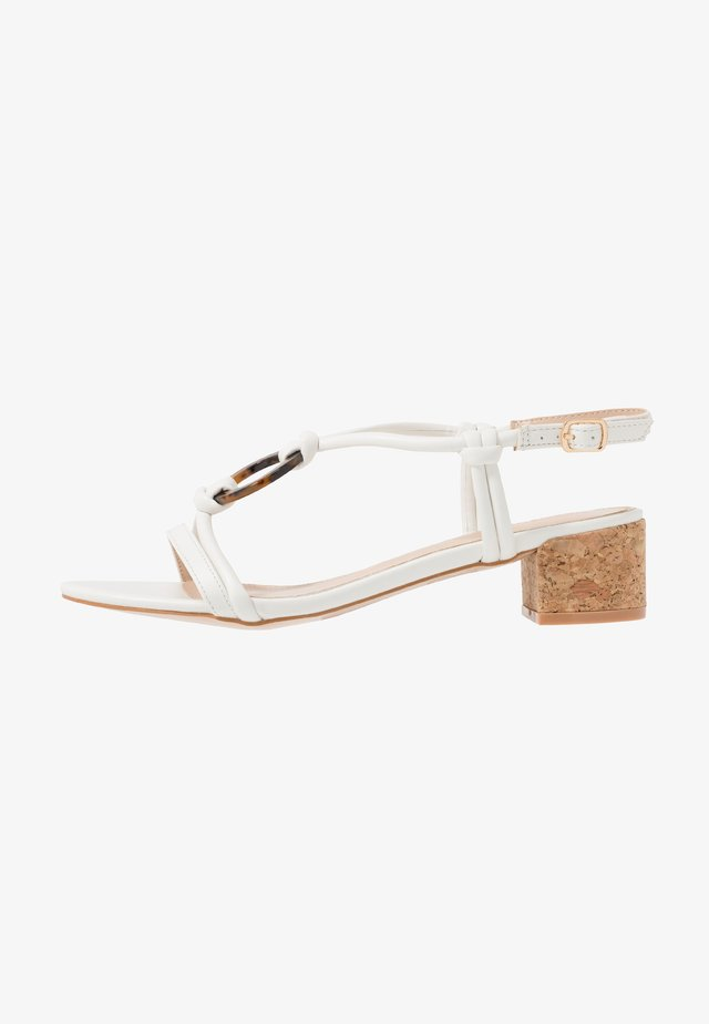 JANIITA - Sandals - white