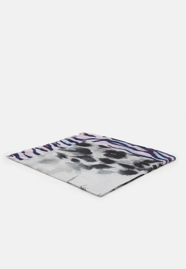 LEPARD FACE - Scarf - grey