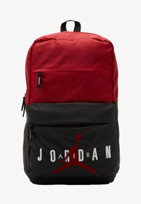 Jordan - PIVOT PACK - Batoh - black/gym red - 1