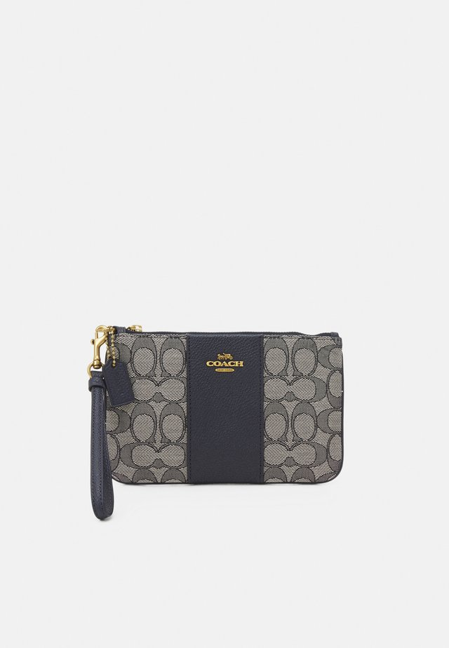 SIGNATURE SMALL WRISTLET - Clutches - midnight navy