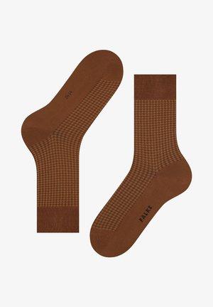 UPTOWN TIE - Socks - caramel