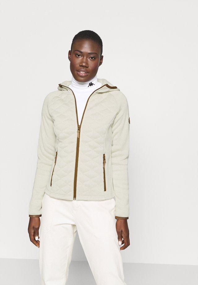 APPLEBY - Fleece jacket - beige